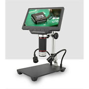 7in High Definition Digital Microscope With Screen For Mobile Phone Maintenance