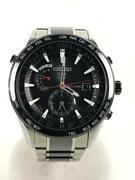 Seiko Astron 7x52-0af0 Japan World Time Gps Solar Mens Watch Authentic Working