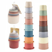 8 Stackable Cups For Babies 12 Months Bath Pool Beach