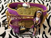 2011 Monster High Dead Tired Room To Howl Clawdeen Bunk Bed Playset
