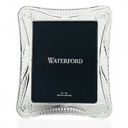 Waterford Crystal Seahorse 8 X 10 Wedge Cut Picture Frame New In Box 40030286
