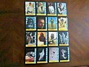 1977 Wonder Bread Star Wars Complete 16 Card Set Nm Free Shipping