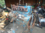 Waukesha Vrd310 Diesel Engine Complete Core Rare Oliver Tractor Vrd310
