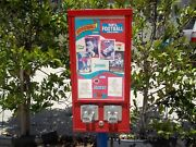 Baseball Card Vending Machine No Stand In Storage 20 Years Great Condition