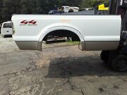 Stk Gaines Ford F250 Long Truck Bed 99 - 2010 White Super Duty Box Bed