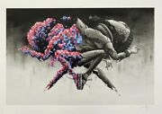 Pez Double Trouble Limited Edition Screen Print Of 195 In Hand Fast Ship