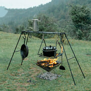 Naturehik Cooking Pot Stand Holder Camping Picnic Bbq Hanging Grill Wrought Max