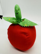 Vintage Tomato Pin Cushion Red Cotton Strawberry Pull Tape Measure Japan 5