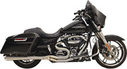 Bassani Long Road Rage Iii 21 Stainless Megaphone Exhaust 2017+ Touring 1f21ss