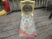 Vintage Marx Electric Casino Table Top Pinball Game Automatic Score Untested