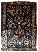 Handmade Antique Oriental Rug 3.3and039 X 5.4and039 100cm X 164cm 1920s - 1b828