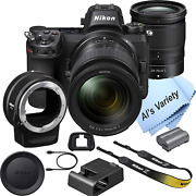 Nikon Z6 Fx-format Mirrorless Camera With 24-70mm Lens+ Mount Adapter Ftz