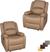 Set Of 2   Recpro Charles Collection   30 Zero Wall Rv Recliner   Wall Hugger R