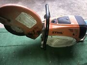 Stihl Ts800 Concrete Cutoff Saw - 16andrdquo - For Parts Or Repair ..as-is