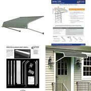 7 Ft. 1100 Series Door Canopy Aluminum Awning 12 In. H X 42 In. D In Graystone