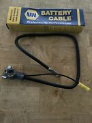"""30"""" Lead 4g Top Post, Positiv/negat Battery Cable, Made In Usa Napa"""