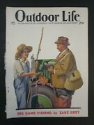 Vintage Outdoor Life Magazine April 1930 Article By Zane Grey