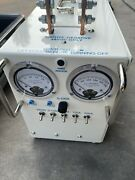 H F Wilson Cannon Load Bank Tester 48vdc 500 Amp L-48-500 With Suitcase Case