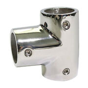 90 Degree 7/8inch Corner Elbow7/8 Inch Pipe Hand Rail Tee For Boat