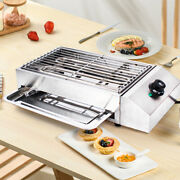 Bbq Portable Electric Grill Griddle Barbecue Smokeless Cooking Indoor Outdoor