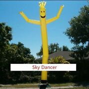Height Inflatable Advertising Air Dancer 4m Sky Dancer With Blower Good