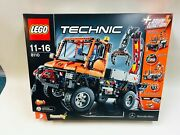 New Sealed Lego Mercedes Benz Unimog 8110 Discontinued 2 In 1