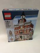 New Sealed Lego 10224 Town Hall Rare Discontinued Retired Collectable Set