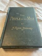 The People Of The Mist H Rider Haggard Rare 1st Edition 1894 Extra Clippings