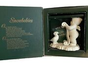 Snowbabies Are You On My List Dept 56 68756 Year 1998
