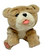 Little Live Pets My Kissing Puppy Rollie Toy Plush Fuzzy Brown Dog 25 Sounds