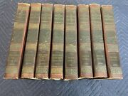 Antique Fine Leather Book Set A History Of Painting By Haldane Macfall Boston