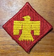 Original Wwii U.s. Army 45th Infantry Division Patch