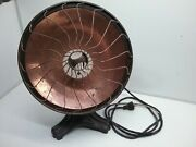 Vintage Hotpoint Electric Heater Light Copper 10a52