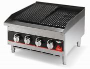 Vollrath 40730 24 Radiant/lava Rock Charbroiler - Cayenne Series