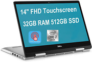 Flagship 2020 Dell Inspiron 14 5000 2-in-1 Laptop Computer 14 Inch Fhd Touchscre