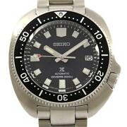 Wristwatch Seiko Prospex 6r35-00t0/sbdc109 Menand039s Used Silver Automatic