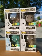Funko 2016 Haunted Mansion Sdcc Gitd With Hard Stack