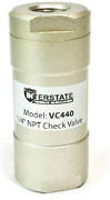 Interstate Pneumatics Vc440 In-line Check Valve 1/4 Fpt X 1/4 Fpt - Pack Of 10