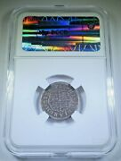 1755 Spanish Silver 1 Reales Antique 1700s Colonial Cross Pirate Treasure Coin