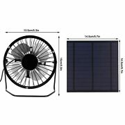 5w Mini Solar Panel With Portable Cooling Fan Photovoltaic Solar Panel Set Kits
