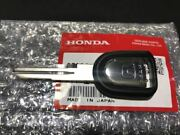 Honda Genuine Parts S2000 Ap1 Ap2 Blank Key Made In Japan And Other Car