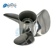 Stainless Steel-outboard-propeller10 1/4x16-g For Yamaha 25-60hp 663-45978-00-98