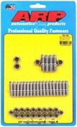 Arp Oil Pan Stud - 12 Point Nuts - Stainless - Polished - Small Block Ford - Kit