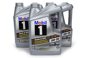 Mobil 1 Motor Oil - Truck And Suv - 0w20 - Synthetic - 5 Qt - Set Of 3 124572