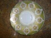 Antique Rs Germany Saucer Dish Green Ships Free