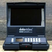 Datavideo Hrs-30 Hand Carry Recorder System Hd Recorder / Monitor Line W/adapter
