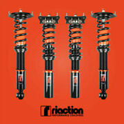 Riaction Coilovers For 86-91 Mazda Rx-7 Fc 32 Way Adjustable Coilovers
