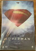 Hot Toys Superman Mms200 Man Of Steel 1/6 Scale Figure Sideshow Exclusive