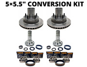 5andtimes5.5 Conversion Deluxe Kit- Converts Gm/chevy 6 Lug To Ford 5 Lug Bolt Pattern