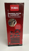 Toro Universal Gutter Cleaning Kit W/11ft Reach For Handheld Leaf Blower 51668